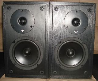 Cerwin Vega LS 5 Home Theater Bookshelf Speakers *Excellent Working