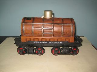 Jim Beam Train Car Decanter / Tank Car / Box / Papers