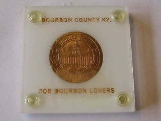 Bourbon County, Kentucky, 175th Anniversary Medal