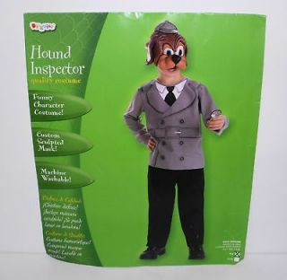 Hound Dog Inspector Mask Costume Boys Small 4 6 #1298