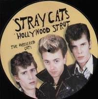 Stray Cats ‎Hollywood Strut New Limited 10 Picture Disc LP