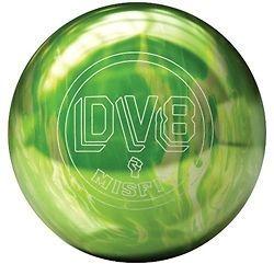 DV8 MISFIT GREEN/WHITE BOWLING ball 11 lb. BRAND NEW IN BOX