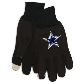 Dallas COWBOYS NFL TOUCHSCREEN GLOVES with Embroidered STAR Logo
