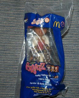 Bratz Funky Fashion Fever Sasha Black McDonalds Happy Meal toy SEALED