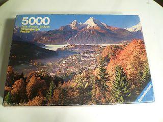 Ravensburger 5000 Piece Puzzle. Herbstliche. Autumn in the Alps. 625 5