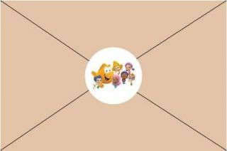 Bubble Guppies Birthday Party Invitations Envelope Seals Stickers