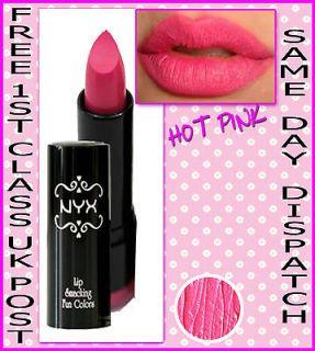 NYX Round Lipstick   HOT PINK   BUBBLEGUM PINK NICKY MINAJ   BN 2011