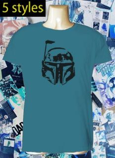 BOBA FETT star wars bounty hunter t shirt 5 STYLES