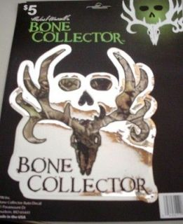 DECAL STICKER BONE COLLECTOR BUCK CAMO MICHAEL WADDELL BROTHERHOOD