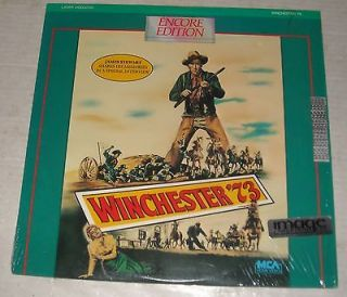 MIB MOVIE LASERDISC 1950 WINCHESTER 73 JAMES STEWART WESTERN SHELLEY