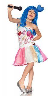 Katy PERRY Candy CUPCAKE California Girls Gurls Costume DRESS Child S