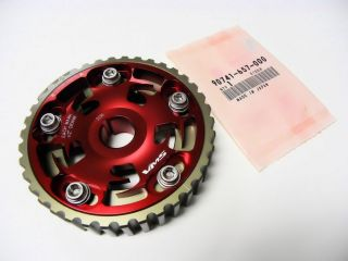 88 00 HONDA CIVIC D15 D16 SOHC ADJUSTABLE RACING CAM GEAR & OEM CAM