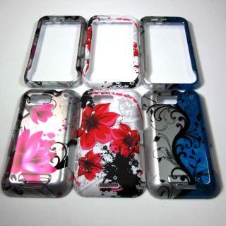 SET OF 3 HARD PHONE COVER CASE FOR MOTOROLA DEFY MB525 TMOBILE BUBBLE