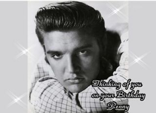 ELVIS PRESLEY Frosting Sheet Edible Cake Topper
