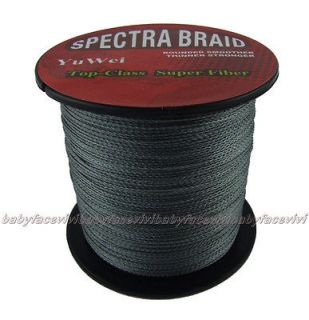 braided Top Quality top class BRAID Spectra braid gray Fishing Line