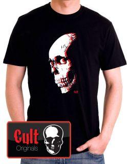 EVIL DEAD Classic Horror Movie 80s Ash Raimi Goth Metal T Shirt Tee