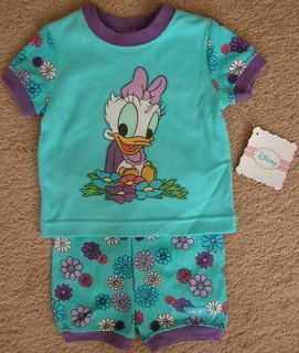 DISNEY / DAISY DUCK / BABY GIRL / 2 PC PAJAMAS / SIZE 18 MONTHS / NWT