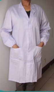Lab Coat (Coats) /Doctor Uniform, White Unisex, 185cm