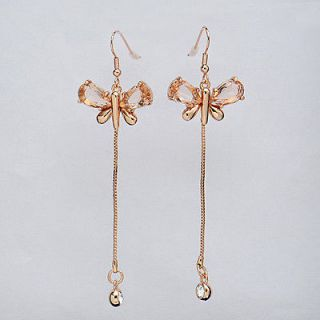 jewelry butterfly jewelry rose gold dangle earrings gold jewelry