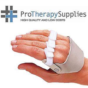 3pp Ulnar Deviation Finger Splint Radial Max Control