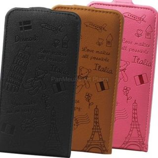 2X P990 T Mobile G2x Cute Cell Phone PU Leather Case Cover (Bear