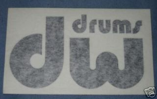 Newly listed DW 4 BLACK DECALs