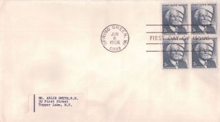 Scott 1280 2c Frank Lloyd Wright Uncacheted First Day Cover 6/8/66