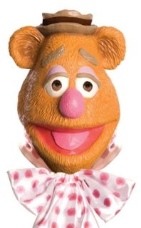 The Muppets Halloween Costume Fozzie Bear Full Mask