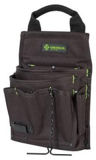 GREENLEE ELECTRICIANS TOOL BAG CADDY 7 POCKET (52041003) 0158 17