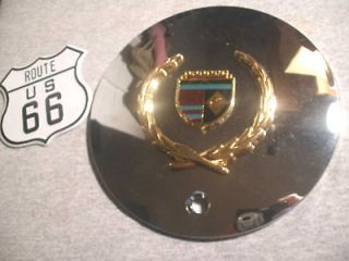 Cadillac Seville Deville STS DTS Custom 6.25 Chrome Gold Wheel Center