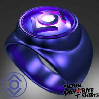 GREEN LANTERN INDIGO LANTERN POWER UP LIGHT UP RING NYCC 2011 WC