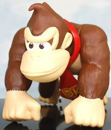 Newly listed super mario bros donkey kong 6 figure toy