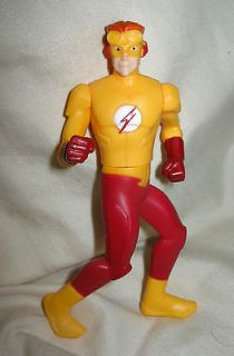 Book Superhero Figurine Action Figure Birthday Cake Topper Flash Man
