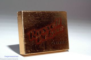 Russell Deluxe Canasta Set Vintage