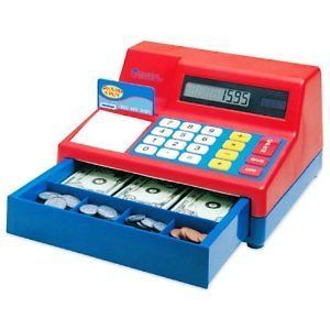 Play Boy Girl Kids Cash Register Fun Toys Calculator Learning Store