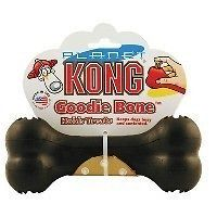 Extreme Planet Kong For Dogs Black Goodie Bone Chew Toy
