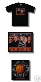 Garbage   NEW ORIGINAL 1999 Concert Tour T shirt  Large