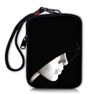 Hooded Lady Digital Camera Bag Case Cover For Kodak Easyshare, Iphone