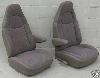 CHEVY/GMC VAN CAPTAIN CHAIRS (TAN) BUCKET SEATS