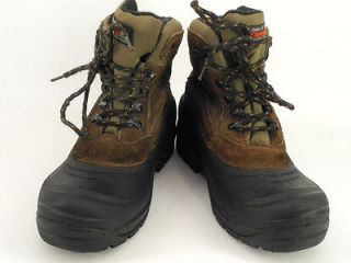 brown black leather rubber Ozark Trail 9 M Thermolite winter snow
