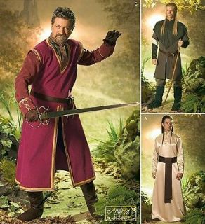 SEWING PATTERN Simplicity 4942 Mens LOTR LORD OF THE RINGS HIGHLANDER