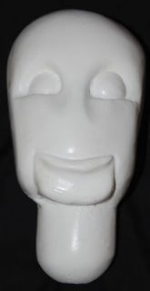 Armature head for sculpting   3T size for ventriloquists, doll, puppet