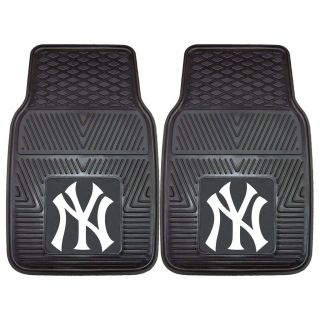 Fanmats New York Yankees 2 piece Vinyl Car Mats   8759.
