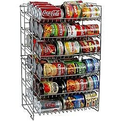 Double high Soup Can Rack ORGANIZE STOCKPILE Pantry Canned Goods