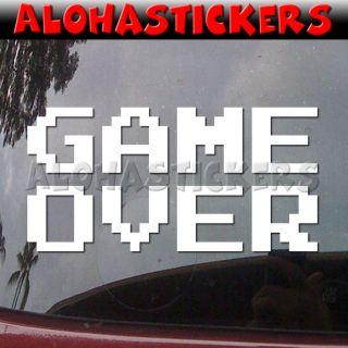 Classic Arcade Game Car Truck Graphics Vinyl Decal Window Sticker GA3