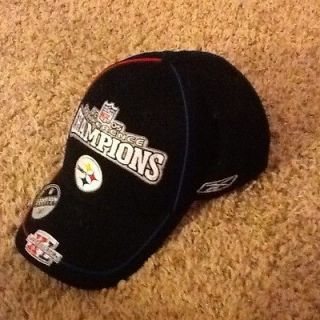 2005 Pittsburgh Steelers Conference Champions Hat