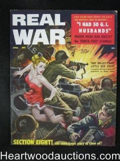 Real War Apr 1958 Bill Ward Art, Mata Hari