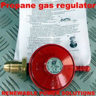 PROPANE LOW PRESSURE GAS REGULATOR 37 mbar TYPE A300