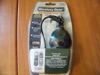 NEW Wireless Gear Rapid Car Charger  Swivel Head Model CC4502 Nextel