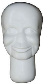 Armature head for sculpting   2T size for ventriloquists, doll, puppet